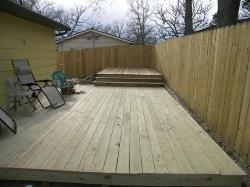 New Deck & Privacy Fencing in Kissee Mills, MO
